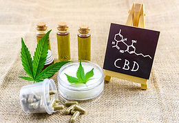 Full spectrum CBD and THC cannabis oils,