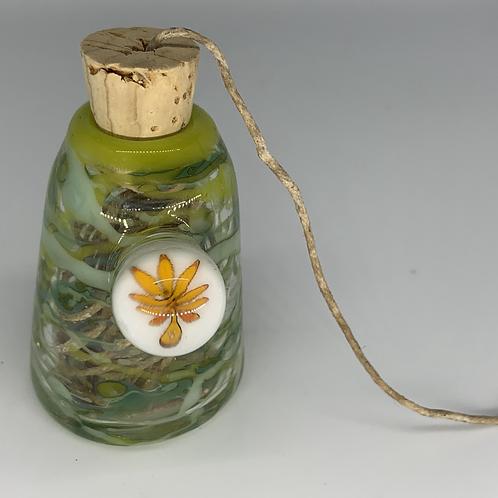 Hemp Wick Glass Bottle
