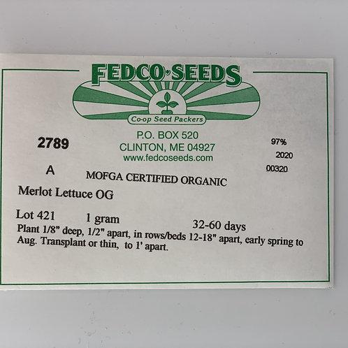 Merlot Lettuce Seeds