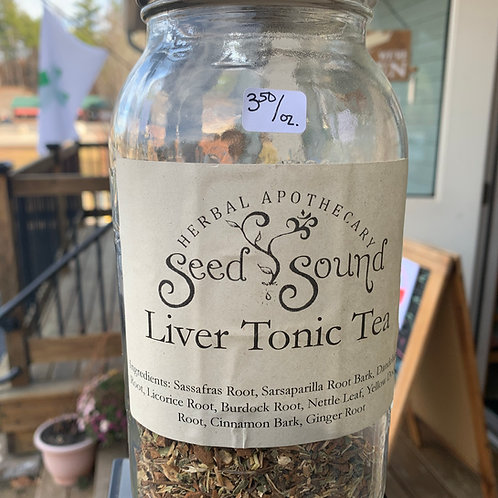 Liver Tonic Tea Blend 1oz