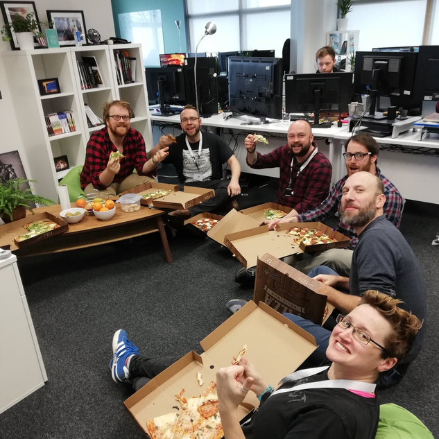 AMG Office Pizza Day