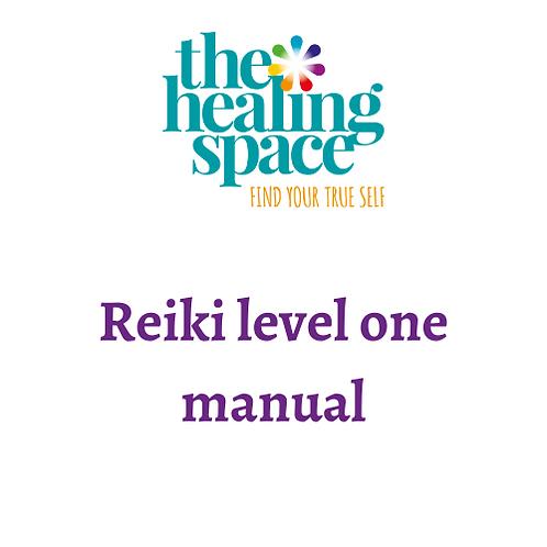 Usui Reiki level one manual
