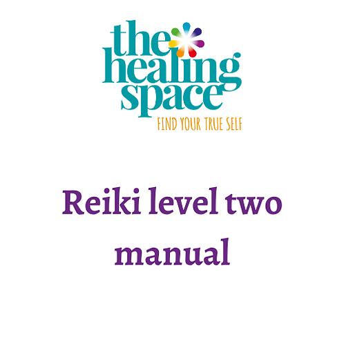 Usui Reiki level two manual