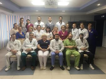Коллектив клиники сегодня