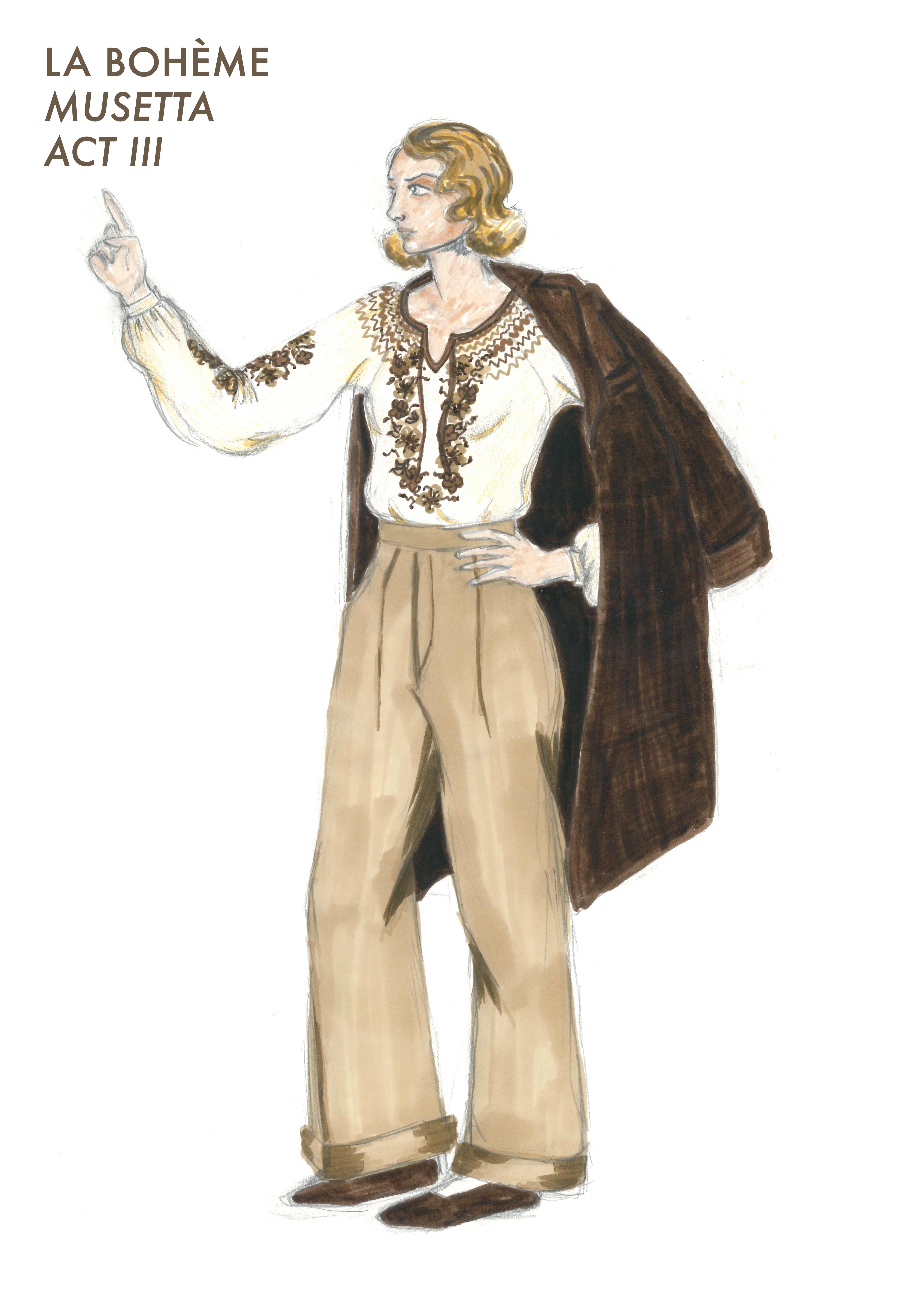 Musetta act 3