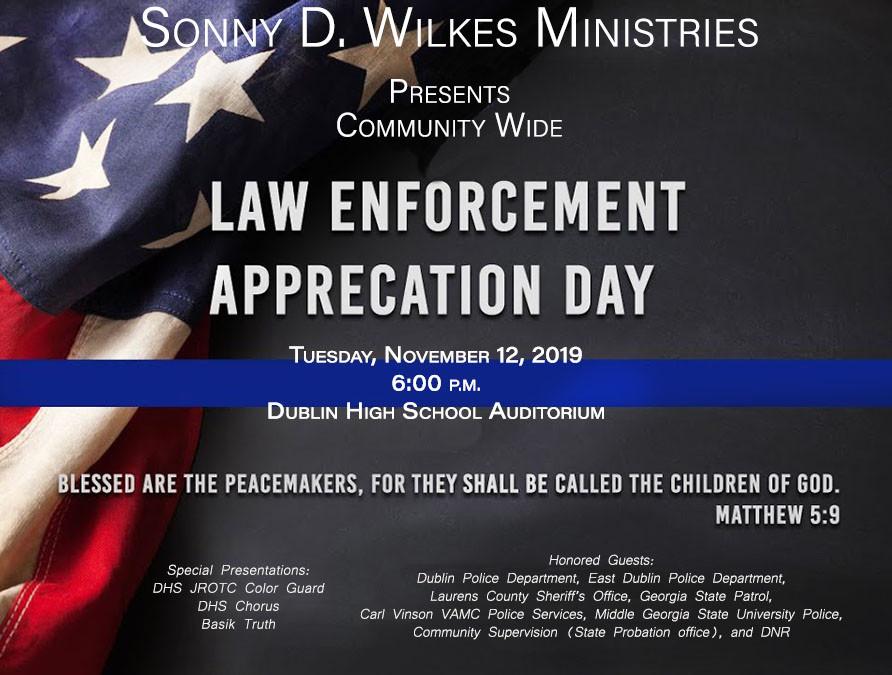 Sonny D. Wilkes Ministries presentsLawEnforcement.jpg