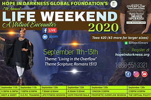 7th Annual LIFE WEEKEND 2020