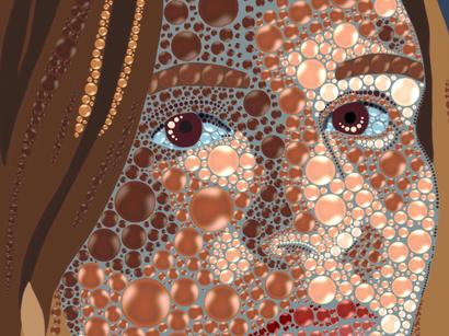 Pop Portrait close up