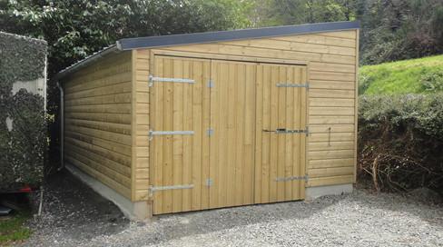 Le Bellec Construction Garage en bois