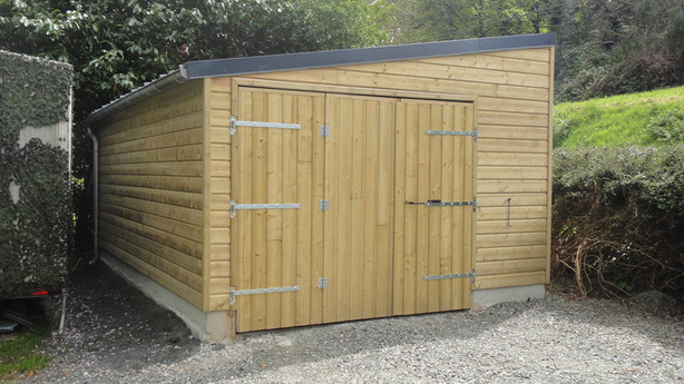 Le Bellec Construction Garage en bois