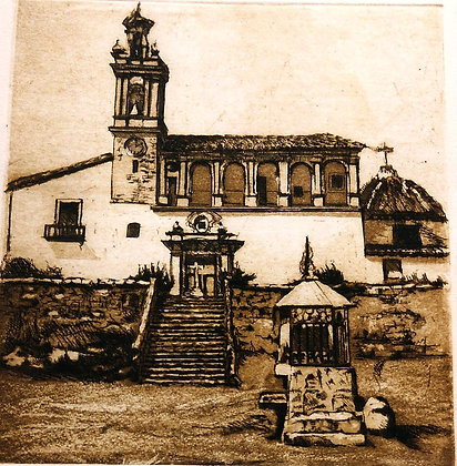 Rocafort. Iglesia de san Sebastian.