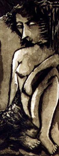 Dama Volutas II (negro) (250,00€)