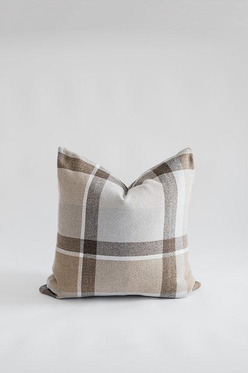 Large Check Cushion