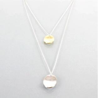 Hazel Necklace in Silver