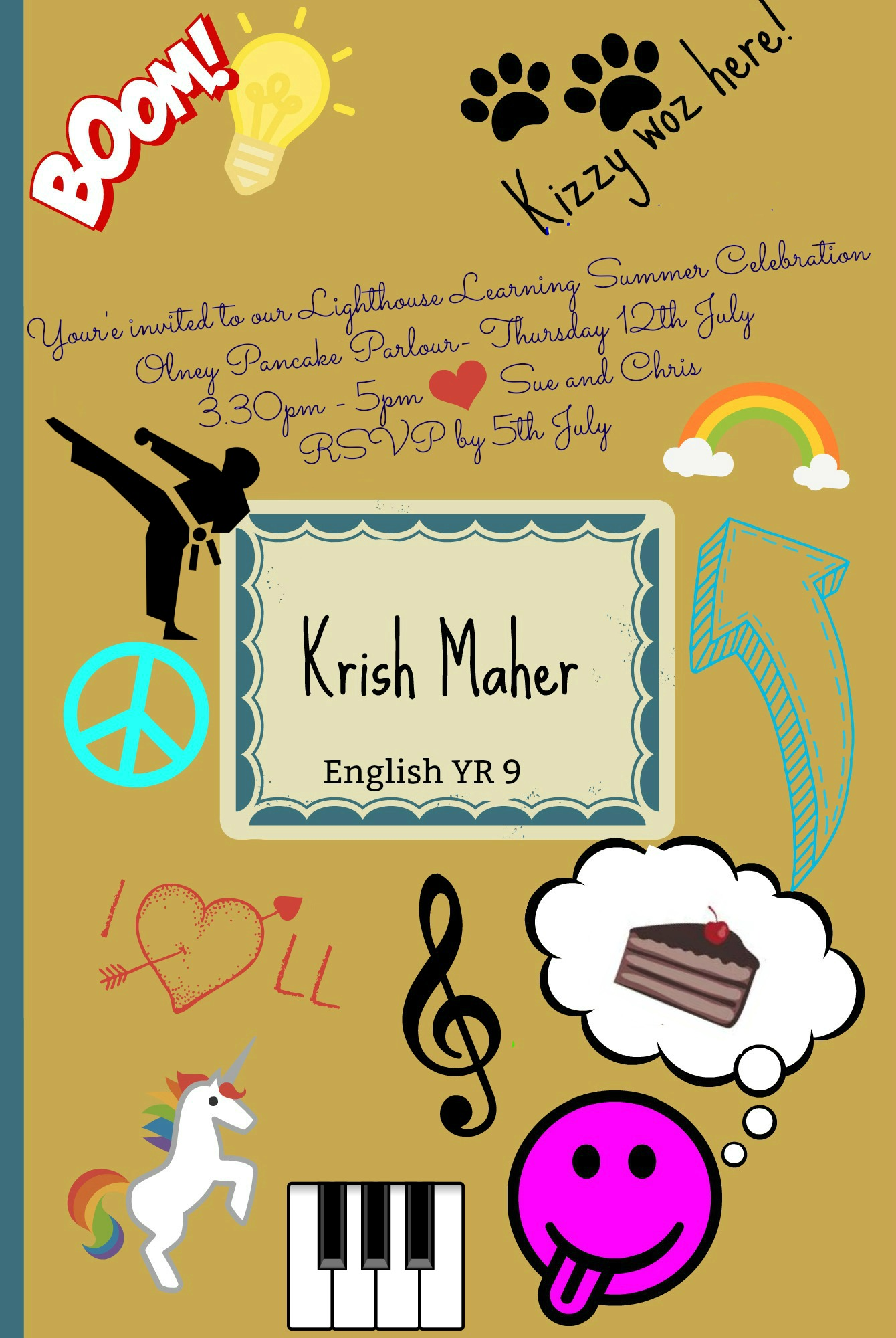 Invitation Krish