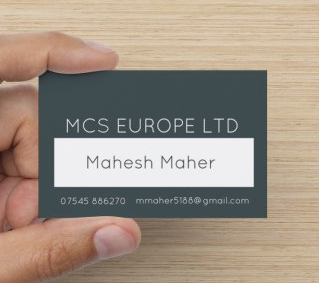 MCS Europe Business Card