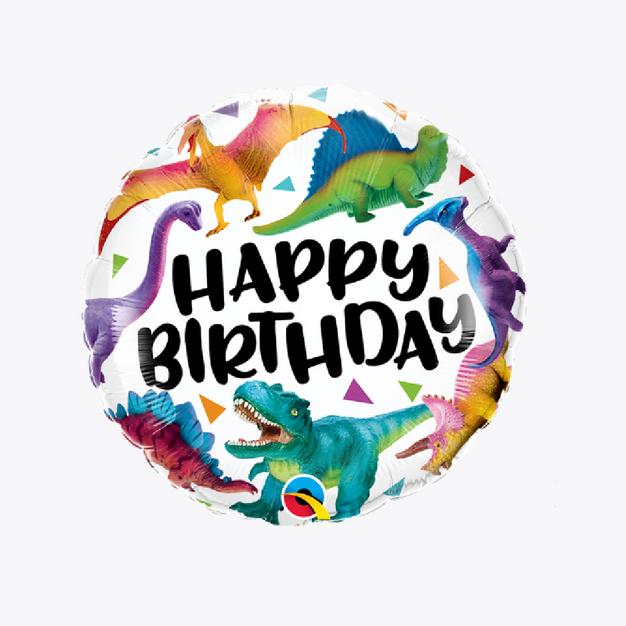 Happy Birthday - Dinosaurs