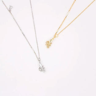 Bea Necklaces in Silver and Gold