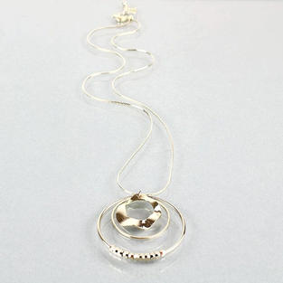 Simone Necklace in Gold