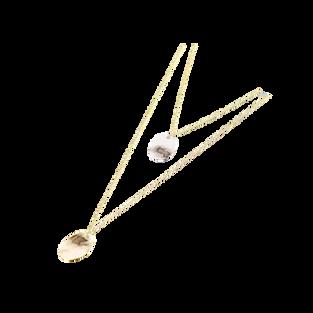 Hazel Necklace in Gold