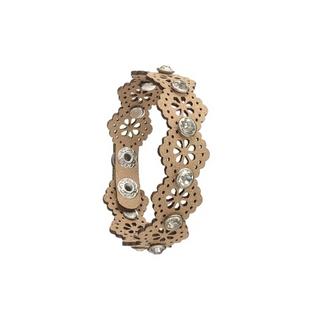 Gold Laser Cut Bracelet