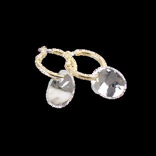 Silver Hazel Earrings