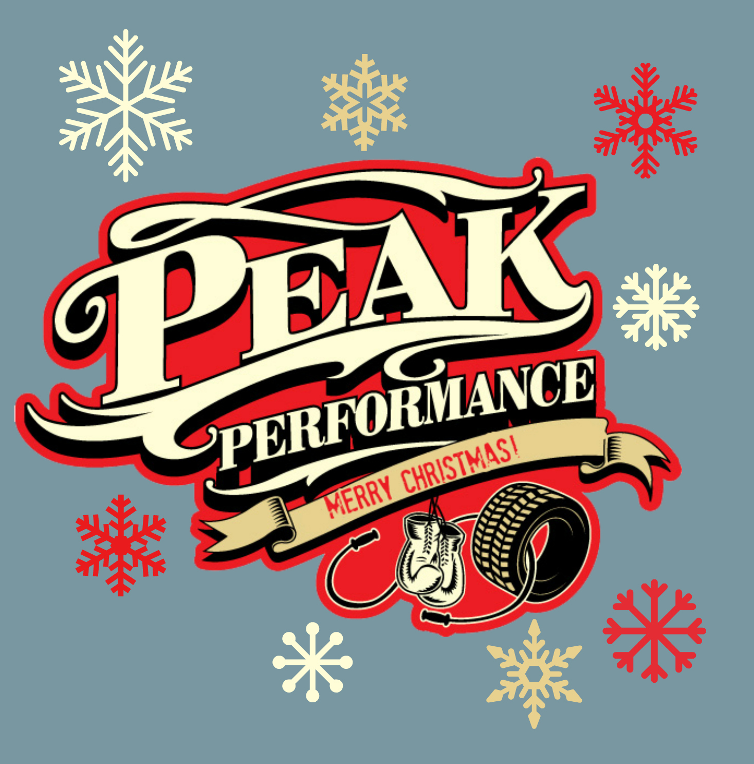 Peak performance christmas cover