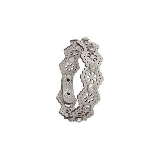 Silver Laser Cut Bracelet