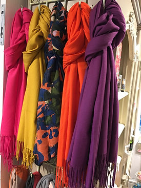 Spring scarves available at Love Lana, Olney