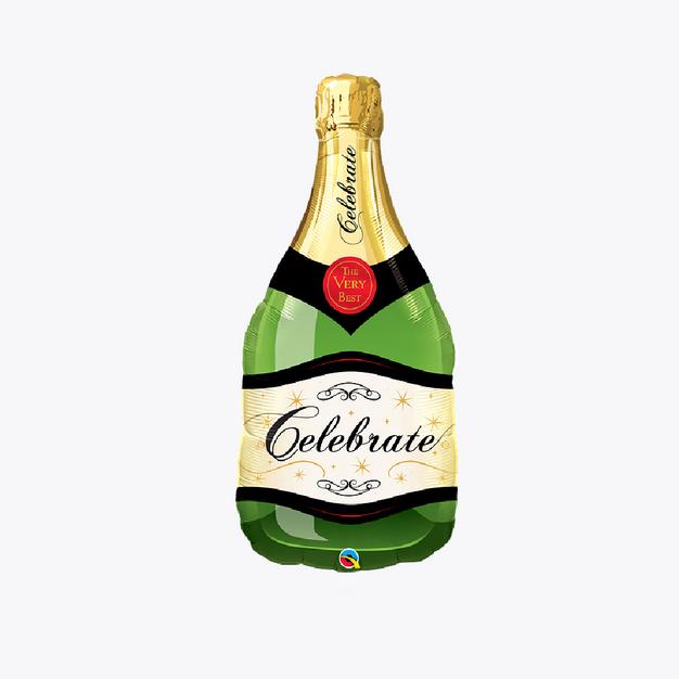 Green Bottle of Bubbles