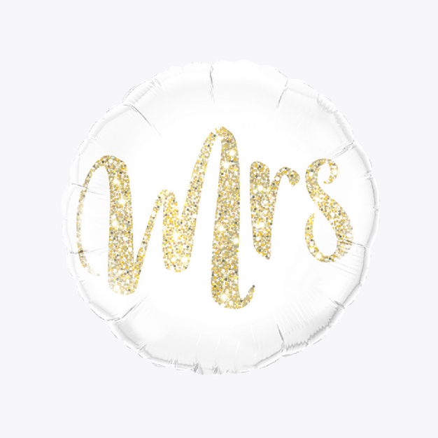 Wedding Balloon - MRS
