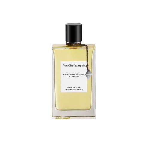 Oblong perfume bottle with black lid