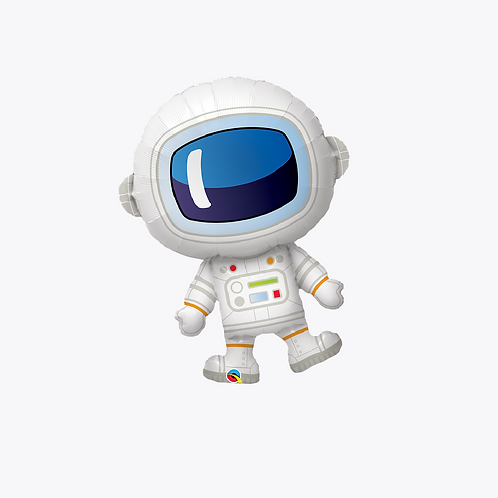 Large foil astronaut shaped balloon