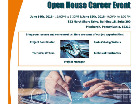 We're Hiring! Open House Career Event