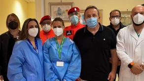 Hub vaccinale Ladispoli, superata la soglia delle 10mila somministrazioni