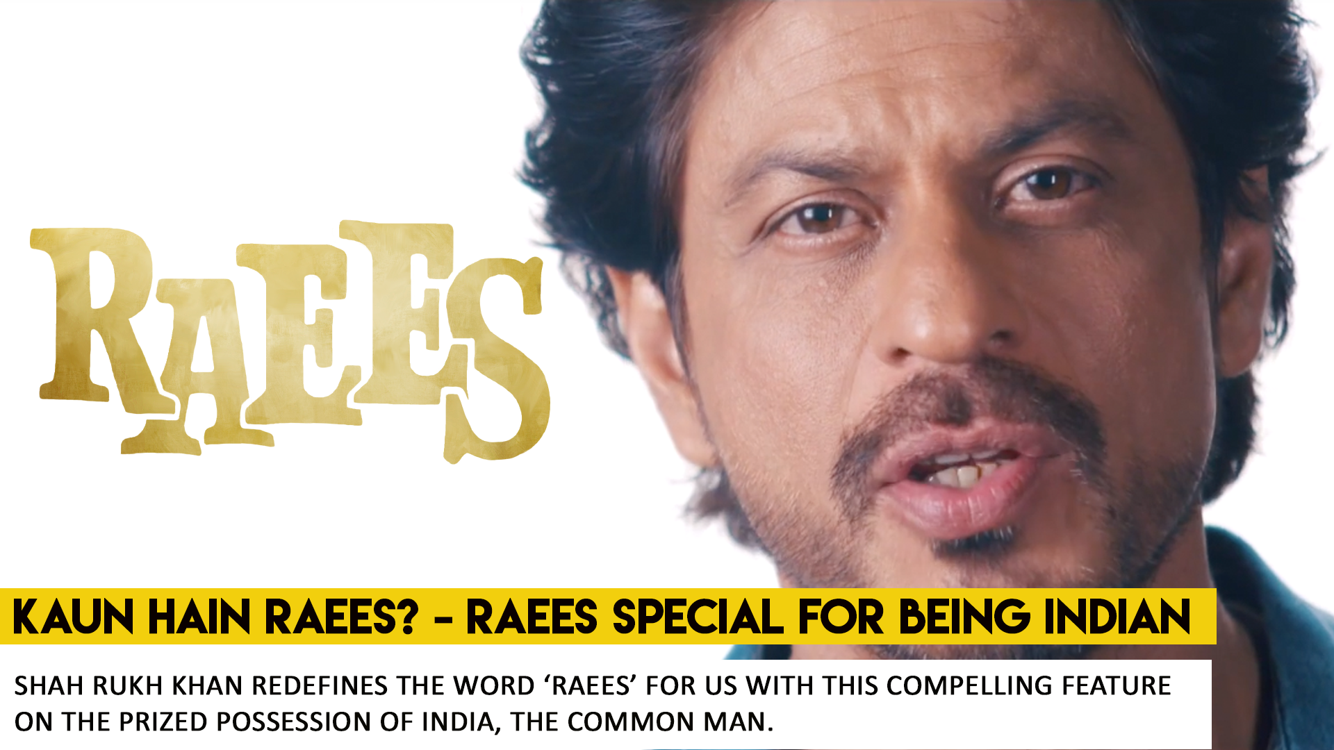 Kaun Hain Raees - What Works