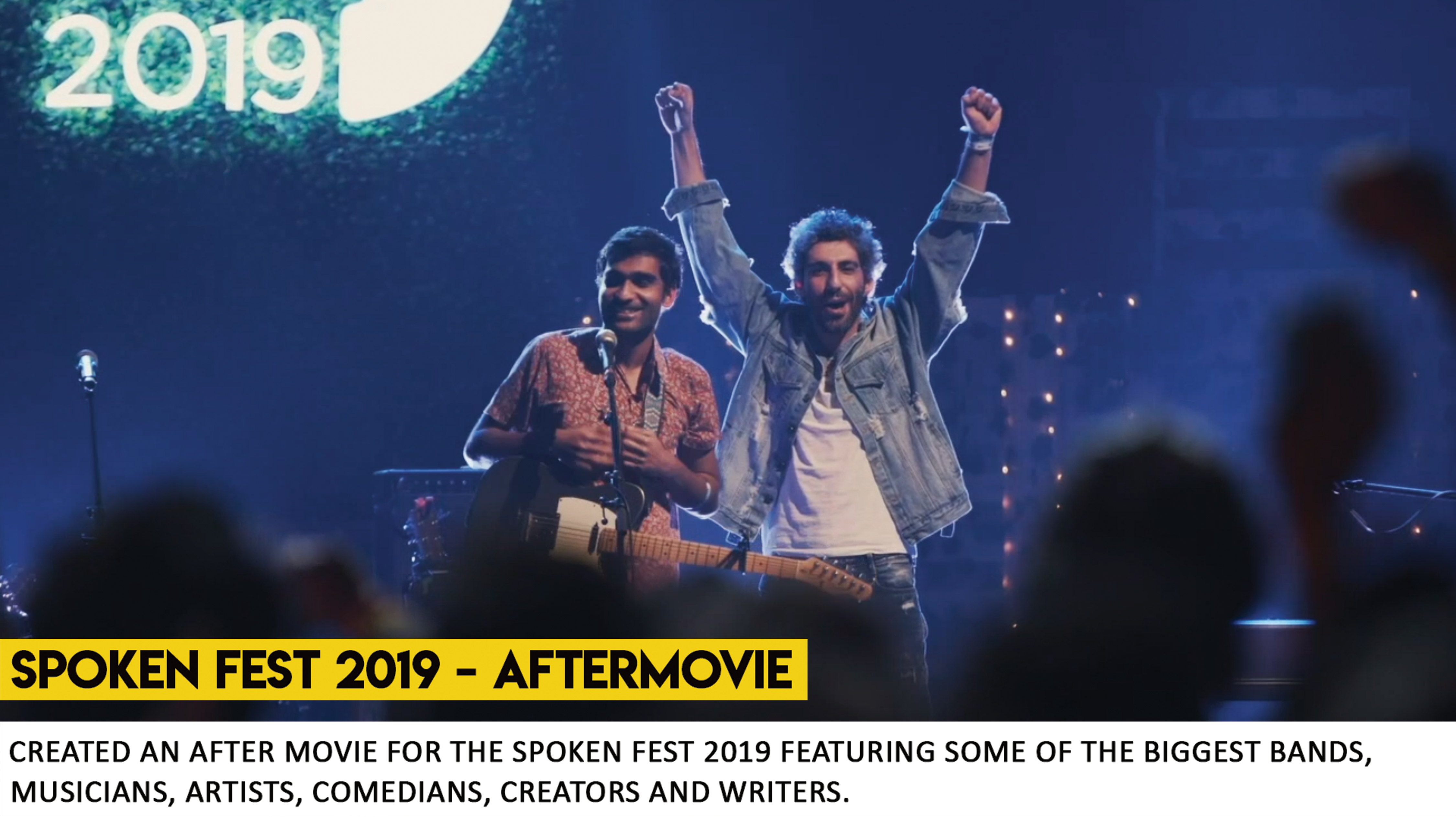Spoken Fest 2019 - Aftermovie by What Wo