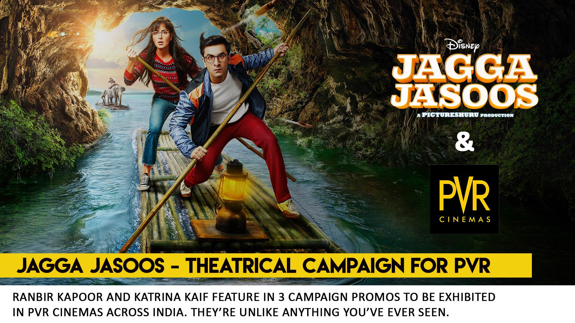 Jagga Jasoos - Trailers for PVR