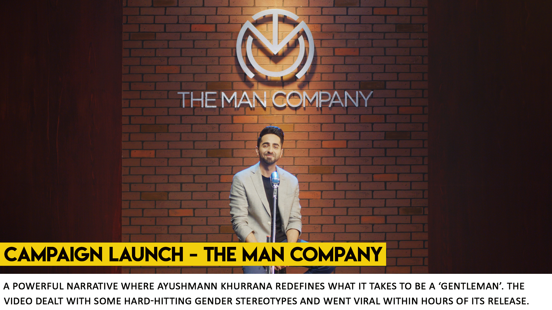 The Man Company Campaign