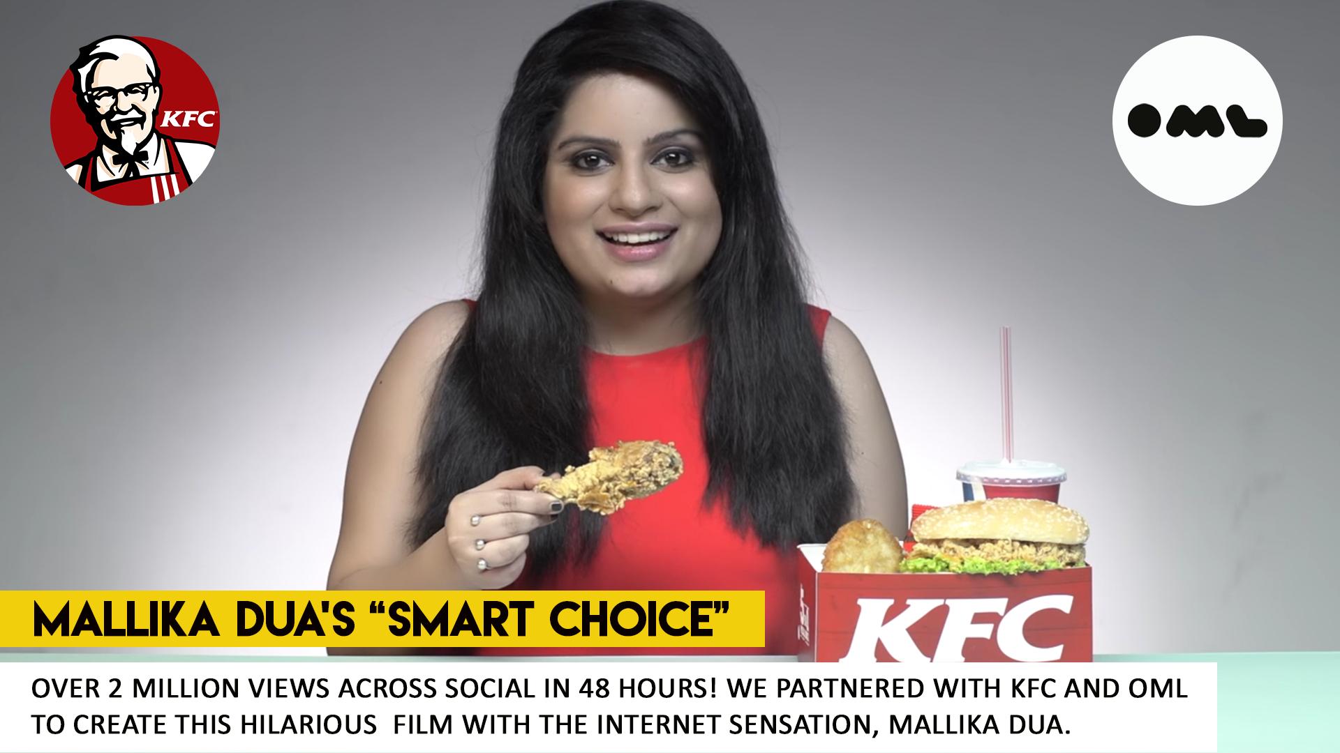 KFC Advertisement with Mallika Dua - What Works