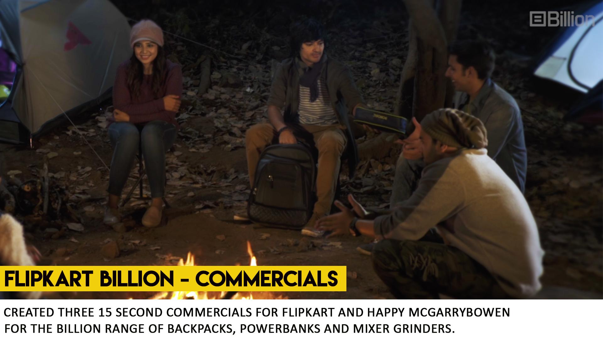 FLIPKART BILLION - COMMERCIAL BY WHAT WORKS