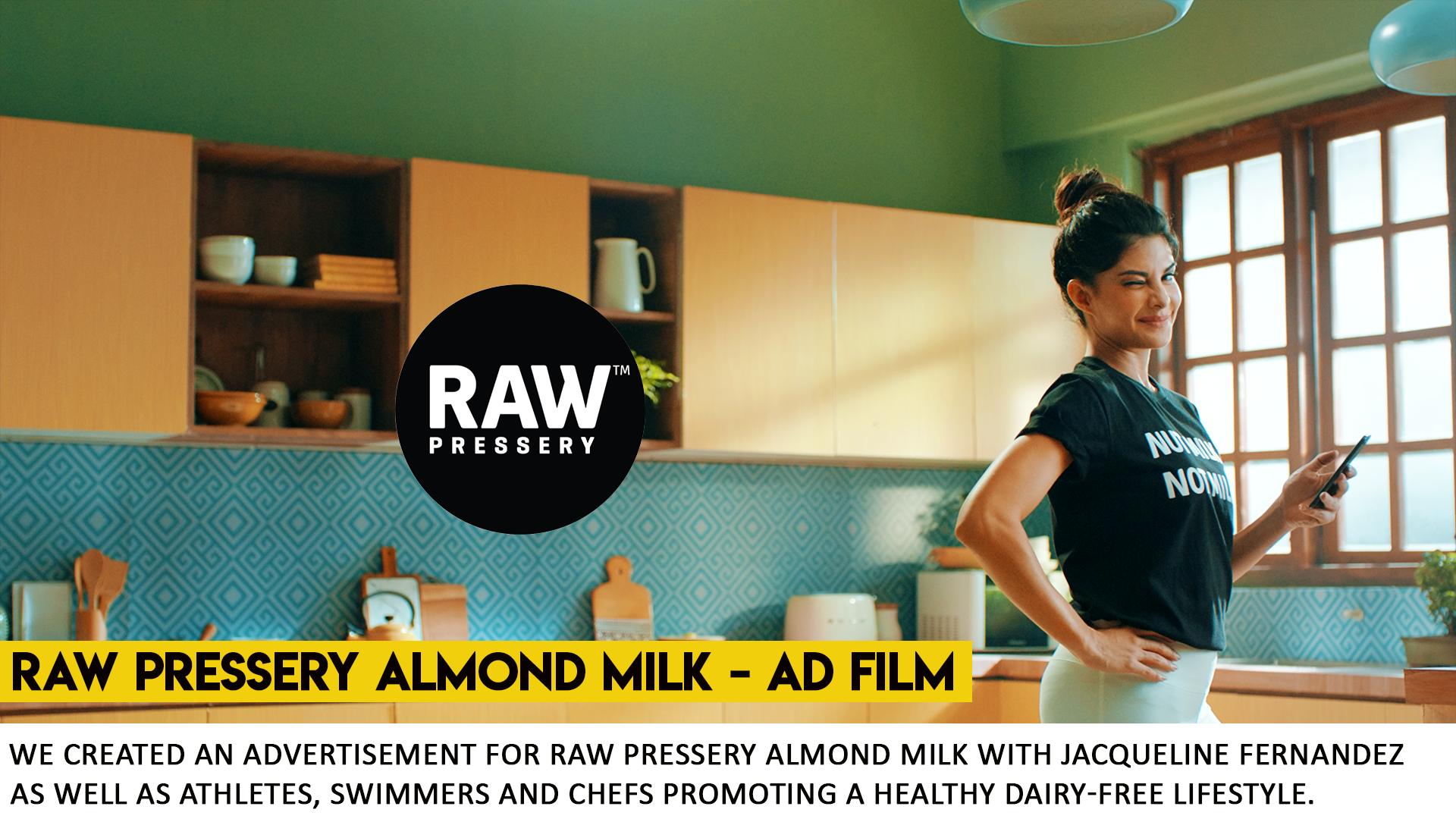 Raw Pressery Almond Milk Commercial