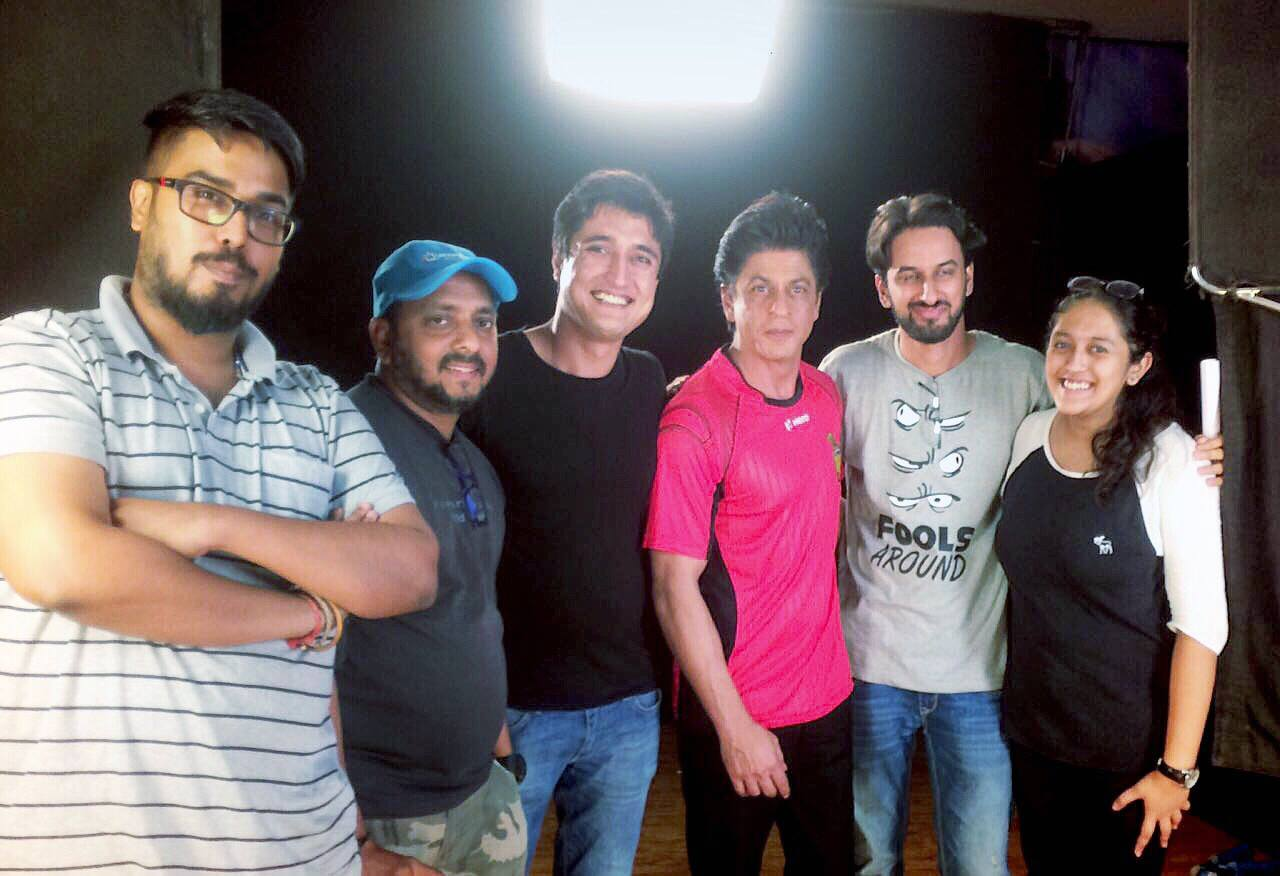 what works team with Shah Rukh Khan