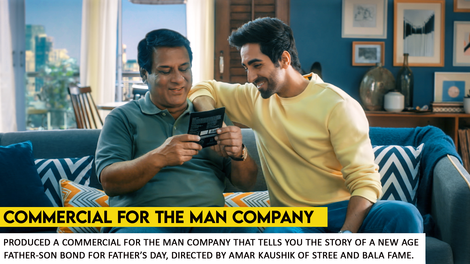 Father's Day Campaign for The Man Company