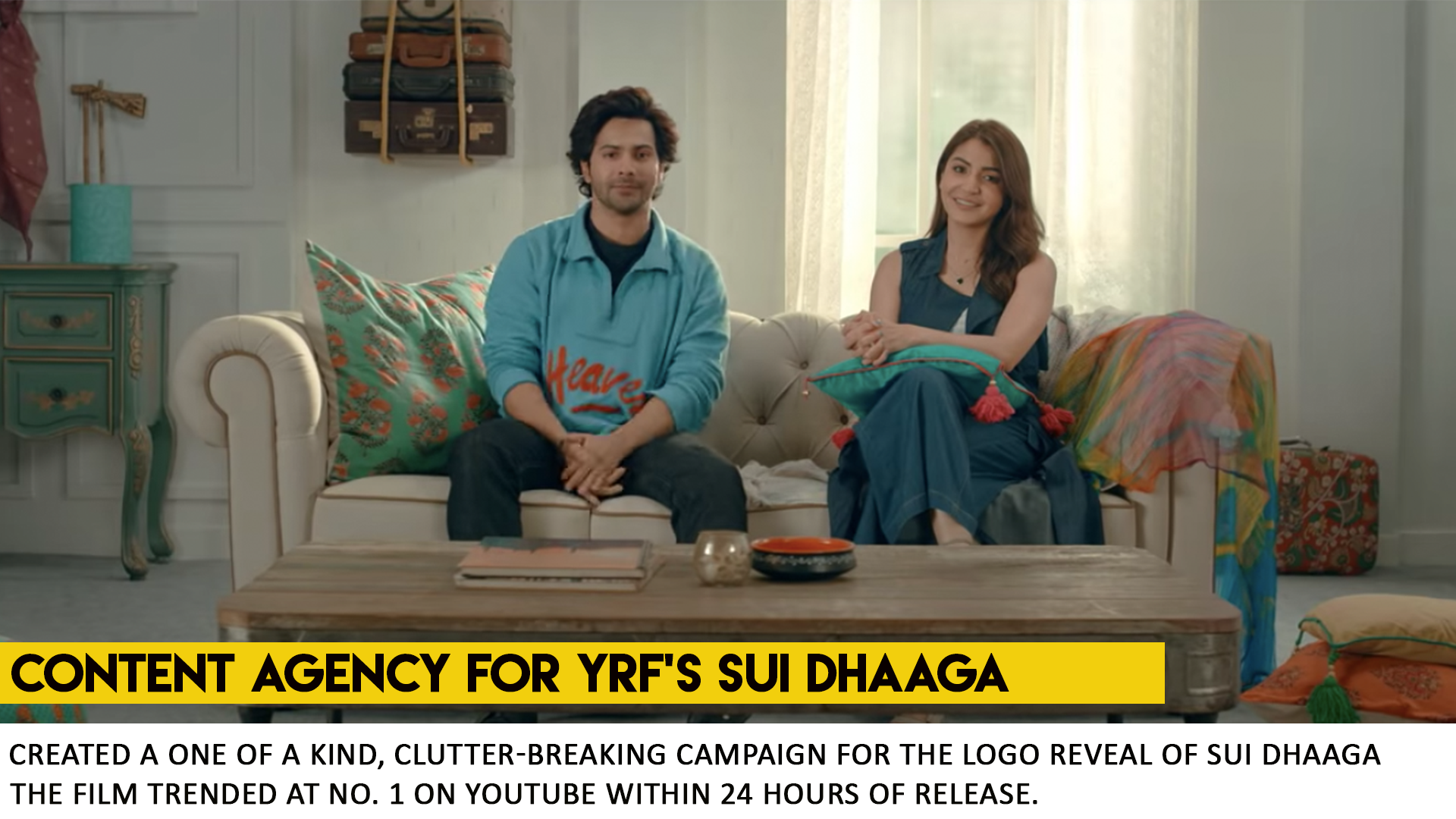 SUI DHAAGA - LOGO REVEAL - CONTENT AGENC