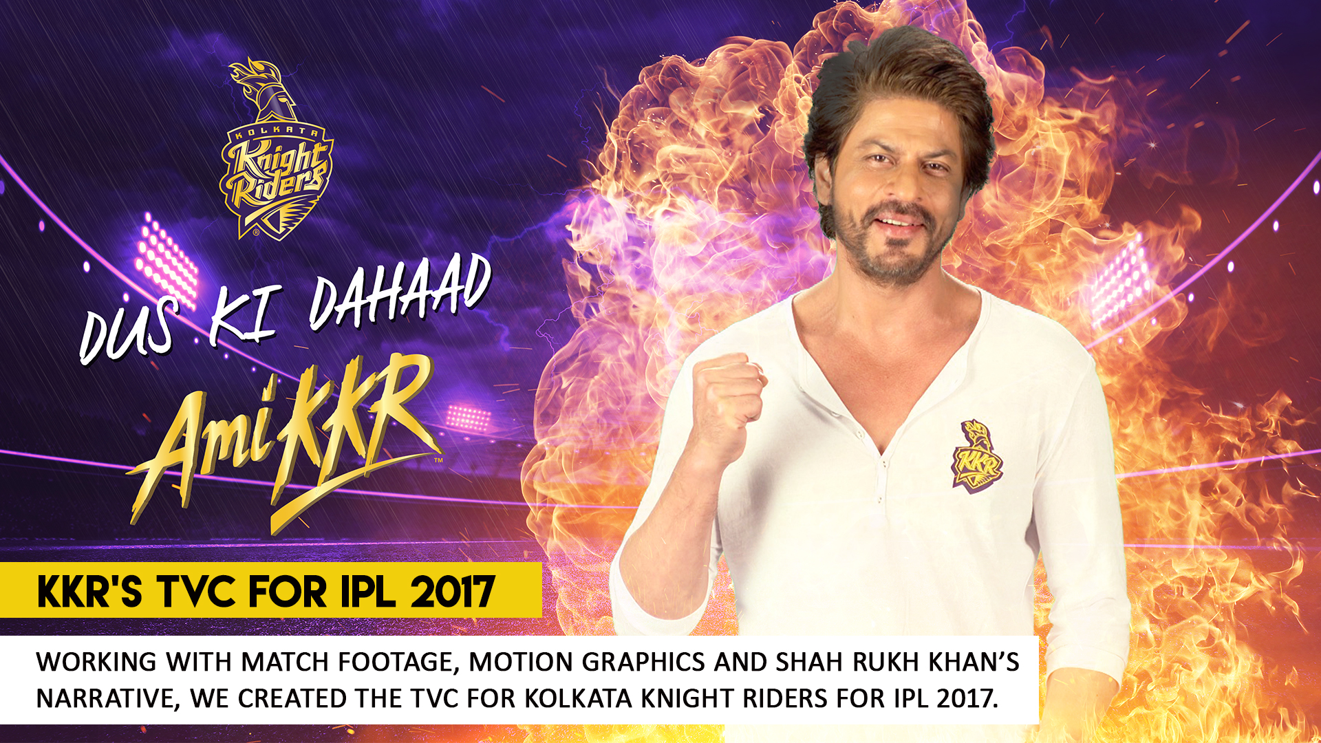 Kolkata Knight Riders TVC by What Works