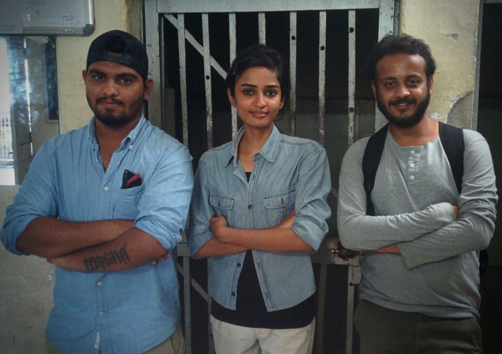 Jay, Deeksha and Vibhav