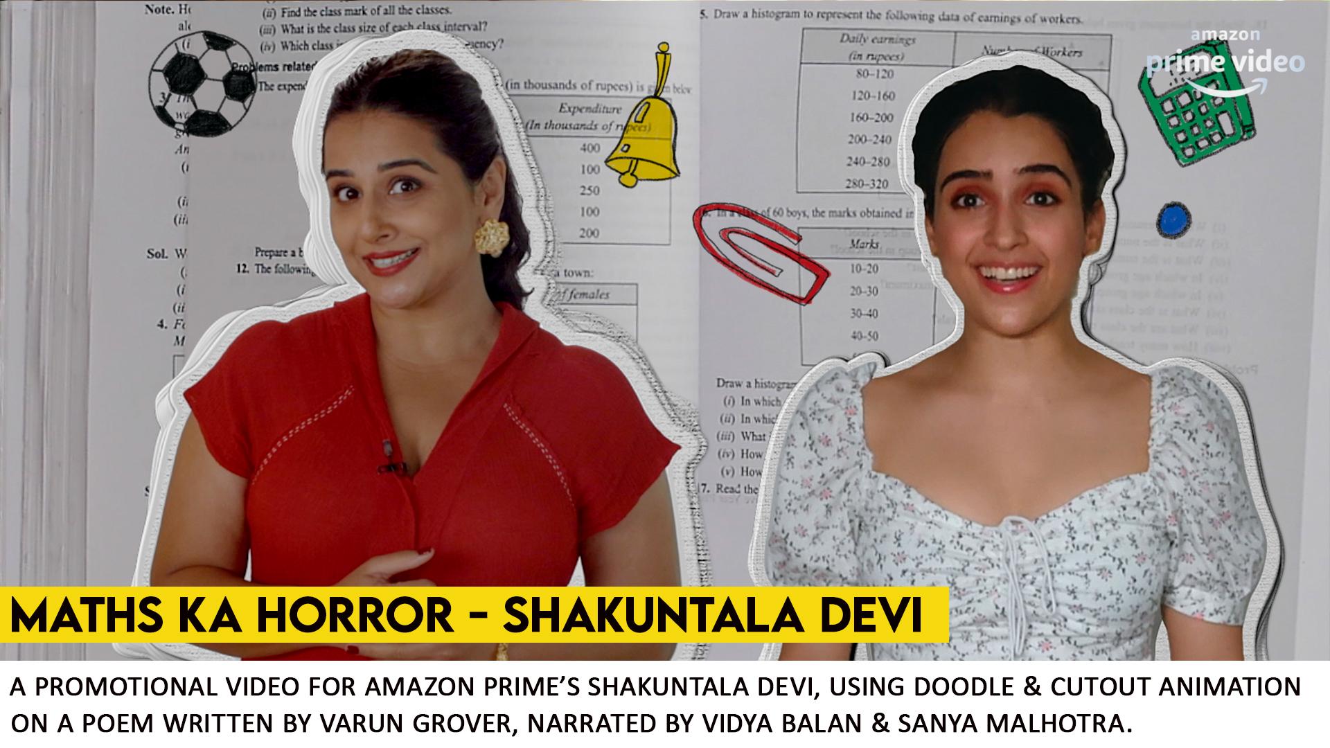 Shakuntala Devi - Maths Hai Horror