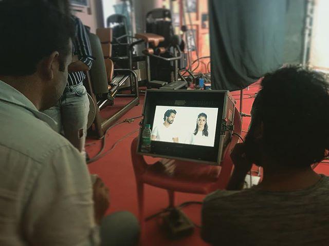 Sui Dhaaga teaser shoot at Yash Raj Films