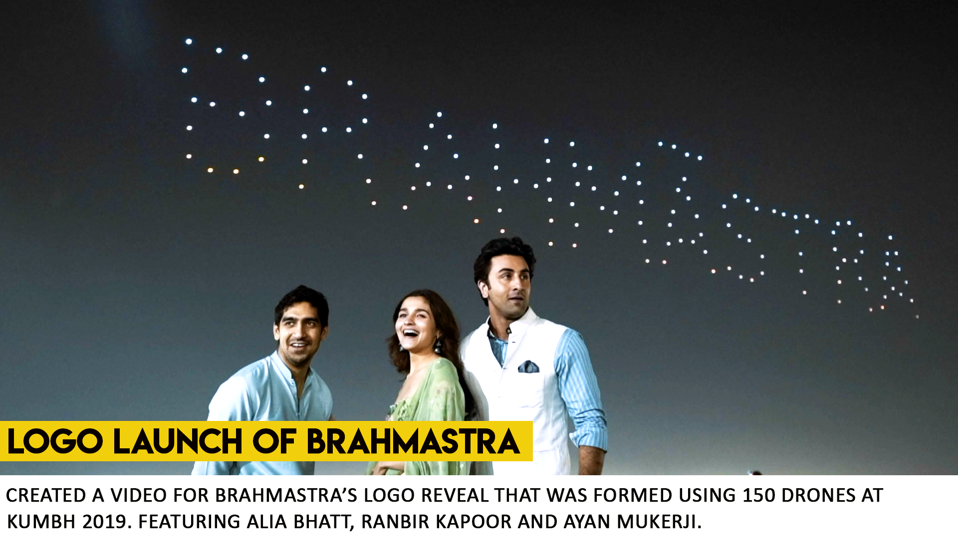 Brahmastra Logo Launch by What Works